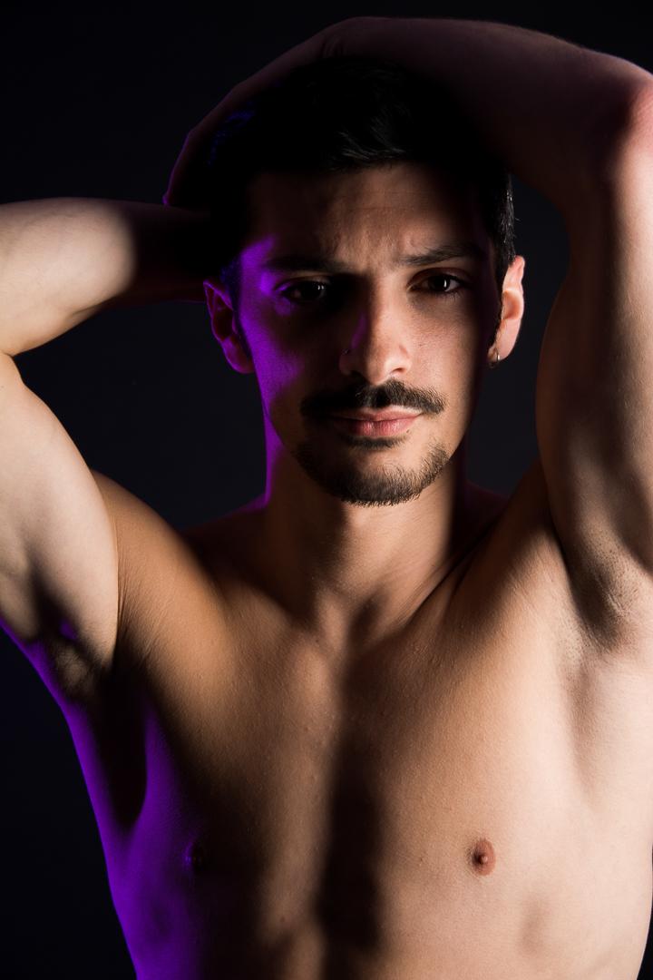 fotografia isolvaro book bailarin